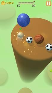 Androidアプリ「Ball Action」のスクリーンショット 3枚目