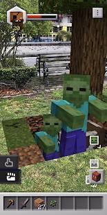 Androidアプリ「Minecraft Earth」のスクリーンショット 5枚目