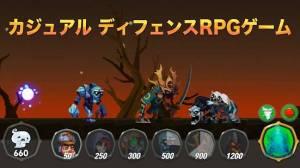 Androidアプリ「リーグモン - モンスターディフェンスRPGゲーム」のスクリーンショット 1枚目