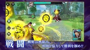 Androidアプリ「サンクタス戦記-GYEE-」のスクリーンショット 3枚目