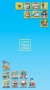 Androidアプリ「シティツアー2048 : ニューエイジ」のスクリーンショット 1枚目