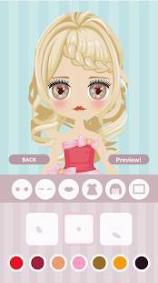 Androidアプリ「Cute Eyes Maker - かわいい目を作るメイクアップゲーム」のスクリーンショット 2枚目