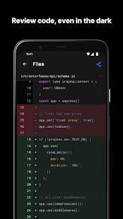 Androidアプリ「GitHub」のスクリーンショット 4枚目