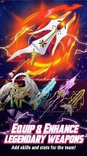 Androidアプリ「Murasaki7 - Anime Puzzle RPG」のスクリーンショット 2枚目