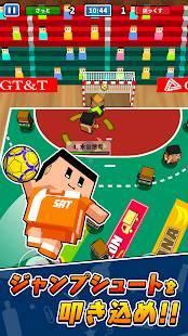 Androidアプリ「机でハンドボール」のスクリーンショット 2枚目