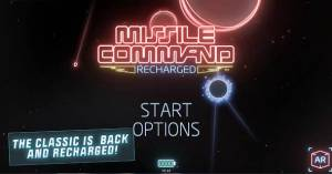 Androidアプリ「Missile Command: Recharged」のスクリーンショット 1枚目