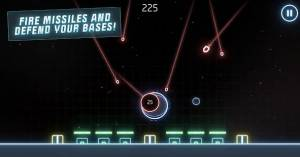 Androidアプリ「Missile Command: Recharged」のスクリーンショット 2枚目