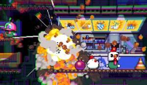 Androidアプリ「Bomb Chicken」のスクリーンショット 1枚目