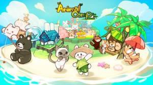 Androidアプリ「どうぶつキャンプ : リゾート物語」のスクリーンショット 1枚目