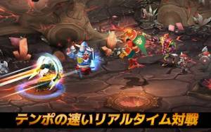 Androidアプリ「バトルライバルズ」のスクリーンショット 5枚目