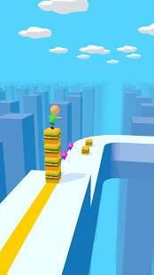 Androidアプリ「Cube Surfer!」のスクリーンショット 1枚目