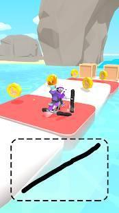 Androidアプリ「スクリブルライダー!」のスクリーンショット 3枚目