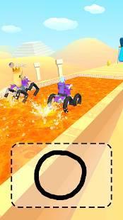 Androidアプリ「スクリブルライダー!」のスクリーンショット 2枚目