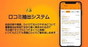 Androidアプリ「おひとりさま向け20万店舗グルメ検索 - 一人旅にビッタリ - テイクアウトあり - ヒトリ飯」のスクリーンショット 4枚目