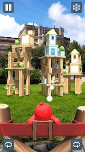 Androidアプリ「Angry Birds AR: Isle of Pigs」のスクリーンショット 5枚目