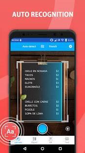 Androidアプリ「Camera Translator : Text & Document Translation」のスクリーンショット 5枚目
