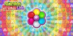 Androidアプリ「ガーデンドリームライフ:フラワーマッチ3パズル」のスクリーンショット 1枚目