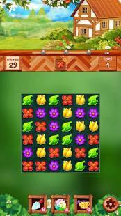 Androidアプリ「ガーデンドリームライフ:フラワーマッチ3パズル」のスクリーンショット 3枚目