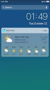 Androidアプリ「X Launcher: With OS13 Style Theme & Control Center」のスクリーンショット 2枚目