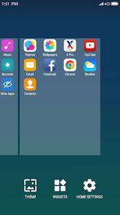 Androidアプリ「X Launcher: With OS13 Style Theme & Control Center」のスクリーンショット 5枚目