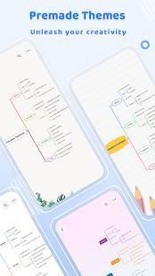Androidアプリ「GitMind - 初心者向けマインドマップツール」のスクリーンショット 5枚目