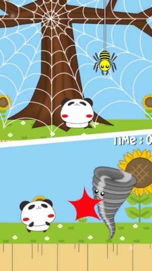 iPhone、iPadアプリ「パンダのたぷたぷ大冒険」のスクリーンショット 3枚目