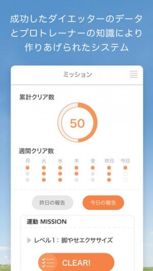 iPhone、iPadアプリ「meuron (ミューロン) トレーナーと糖質制限ダイエット」のスクリーンショット 4枚目