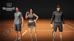 iPhone、iPadアプリ「Ultimate Tennis - アルティメットテニス」のスクリーンショット 1枚目