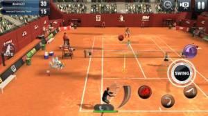 iPhone、iPadアプリ「Ultimate Tennis - アルティメットテニス」のスクリーンショット 3枚目
