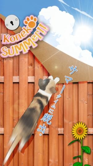 iPhone、iPadアプリ「脱出ゲーム 猫が逃げた夏。」のスクリーンショット 1枚目
