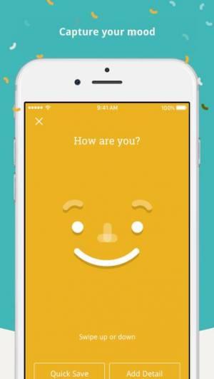 iPhone、iPadアプリ「Moodnotes」のスクリーンショット 1枚目