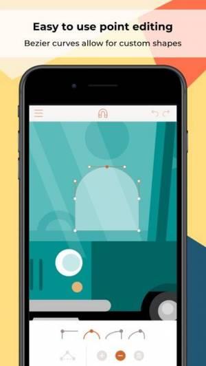 iPhone、iPadアプリ「Assembly: Graphic Design & Art」のスクリーンショット 3枚目