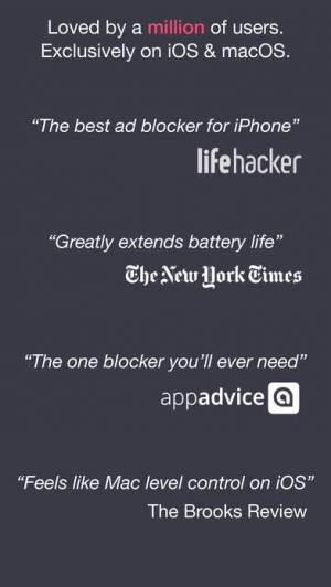 iPhone、iPadアプリ「Legacy 1Blocker」のスクリーンショット 5枚目