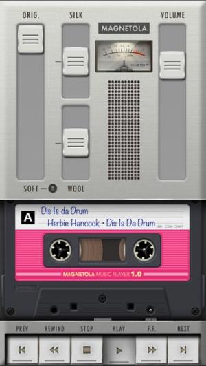 iPhone、iPadアプリ「Magnetola - Vintage Cassette Player with Sound Softener」のスクリーンショット 1枚目