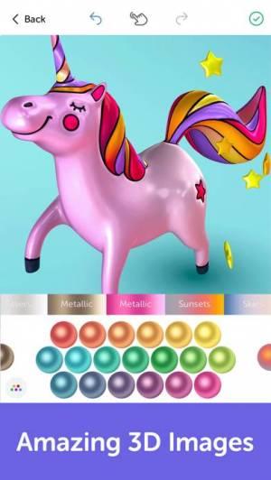 iPhone、iPadアプリ「Recolor - 大人のための塗り絵帳」のスクリーンショット 4枚目