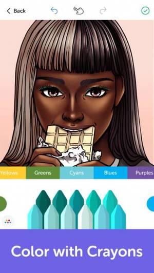 iPhone、iPadアプリ「Recolor - 大人のための塗り絵帳」のスクリーンショット 3枚目