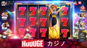 iPhone、iPadアプリ「Huuugeカジノ™」のスクリーンショット 1枚目