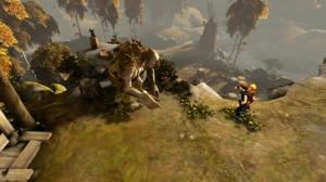 iPhone、iPadアプリ「Brothers: A Tale of Two Sons」のスクリーンショット 4枚目