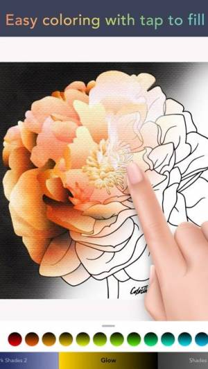 iPhone、iPadアプリ「Color Therapy - 大人の絵本」のスクリーンショット 2枚目