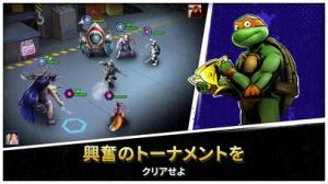 iPhone、iPadアプリ「Ninja Turtles: Legends」のスクリーンショット 3枚目