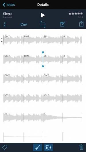 iPhone、iPadアプリ「Music Memos」のスクリーンショット 5枚目