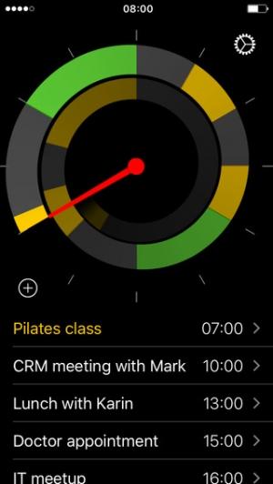 iPhone、iPadアプリ「Future – カレンダー上のイベントを24時間体制で管理します」のスクリーンショット 4枚目