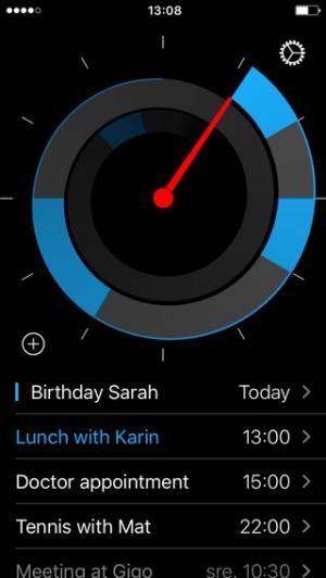 iPhone、iPadアプリ「Future – カレンダー上のイベントを24時間体制で管理します」のスクリーンショット 2枚目
