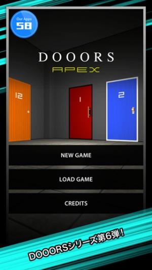 iPhone、iPadアプリ「脱出ゲーム DOOORS APEX」のスクリーンショット 1枚目