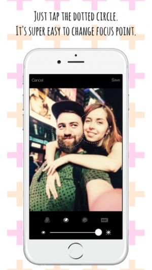 iPhone、iPadアプリ「Happy Selfie - 目が美しい自撮り」のスクリーンショット 3枚目