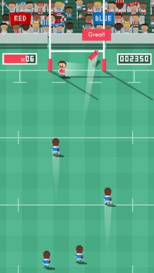 iPhone、iPadアプリ「Tiny Rugby」のスクリーンショット 3枚目