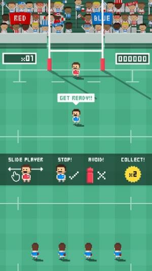 iPhone、iPadアプリ「Tiny Rugby」のスクリーンショット 1枚目