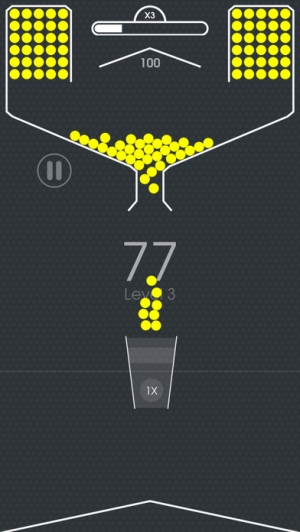iPhone、iPadアプリ「100 Balls - Tap to Drop the Color Ball Game」のスクリーンショット 4枚目