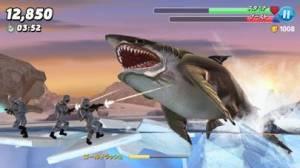 iPhone、iPadアプリ「Hungry Shark World」のスクリーンショット 5枚目