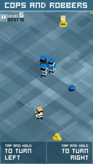 iPhone、iPadアプリ「Cops & Robbers!」のスクリーンショット 1枚目